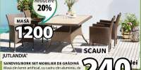 Set mobilier de gradina Sandvig/Bork