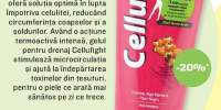 Gel anticelulitic pentru drenaj Cellufight, Elmiplant