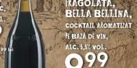 Cockrail aromatizat pe baza de vin Moscato fragolata, Bella Bellina