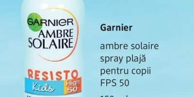 Spray plaja pentru copii, Ambre Solaire, Garnier