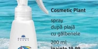Spray dupa plaja cu galbenele, Cosmetic Plant