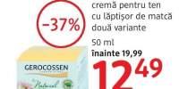 Crema cu laptisor de matca pentru ten, Gerocossen