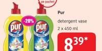 Pur detergent vase