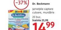 Dr. Beckmann servetele captare culoare, murdarie