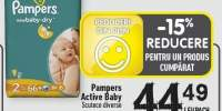 Scutece Pampers Active Baby