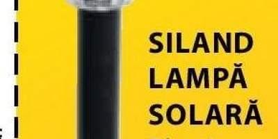 Siland lampa solara