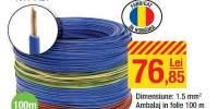 Cablu electric FY 2.5 H07 V-U