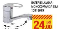 Baterie lavoar monocomanda Sea