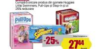 Scutece Huggies, Little Swimmers, Pull-Ups si Step-In