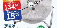 Ventilator inox podea VM2200