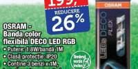 Banda color flexibila Deco led RGB