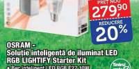 Solutie inteligenta de iluminat led rgb