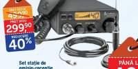 Set statie de emisie-receptie 19DX + antena HGA1500 Cobra
