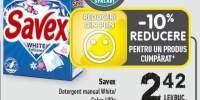 Detergen manual Savex
