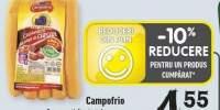 Campofrio cremwursti din piept de curcan