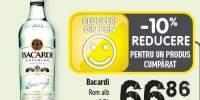 Rom alb Bacardi