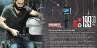 Camera endoscop cu display Powerfix