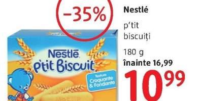 Biscuiti P'tit Nestle