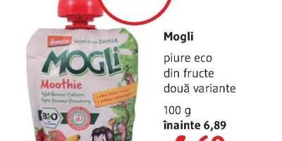 Piure eco din fructe Mogli