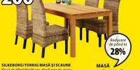 Masa si scaune Silkeborg/Torrig