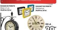 Reducere intre 20-405 la toate ceasurile