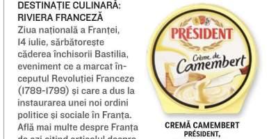 Crema Camembert President