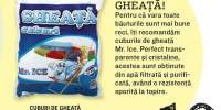 Cuburi de gheata Mr. Ice