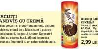 Biscuiti cacao cu crema vanilie Max's, Ro Star