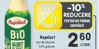 Iaurt de baut bio, Napolact