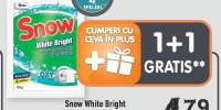 Snow White Bright Detergent automat