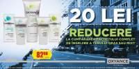 20 lei reducere la cumpararea pachetului complet de ingrijire a tenului gras sau mixt