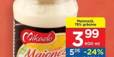 Maioneza 75% grasime