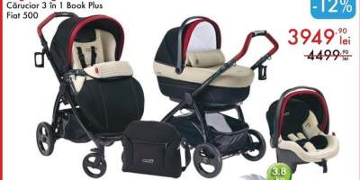 Peg Perego carucior 3 in 1 Book Plus Fiat 500