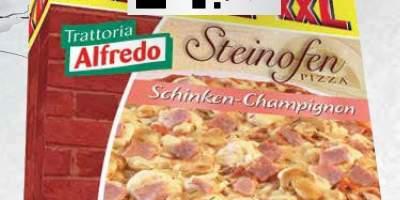 3x Pizza cu sunca si ciuperci
