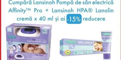 Pompa de san electrica AffinityPro + Crema Lanolin