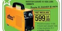 Inverter sudura 10-160A, Juba