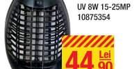 Aparat antiinsecte UV 8W, 15 - 25 metri patrati