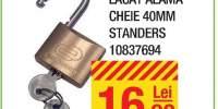 Lacat alama cheie 40 milimetri Standers
