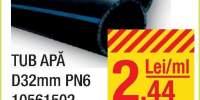 Tub apa D32 milimetri PN6