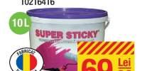 Vopsea lavabila exterior Super Sticky alba 10 litri