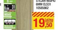 Parchet laminat stejar nisipiu 6 milimetri CLS31