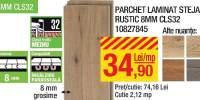 Parchet laminat stejar rustic 8 milimetri CLS32