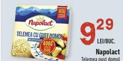 Telemea gust domol, Napolact