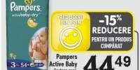 Pampers Active Baby scutece copii