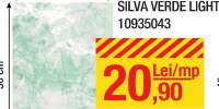 Faianta Silva verde light