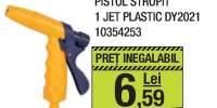 Pistol stropit 1 jet plastic
