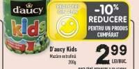 Mazare extrafina D'aucy Kids