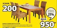 Bakkely/Torrig Masa si scaune