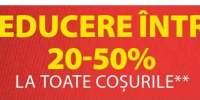 Reducere intre 20-50% la toate cosurile