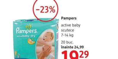 Pampers active baby scutece